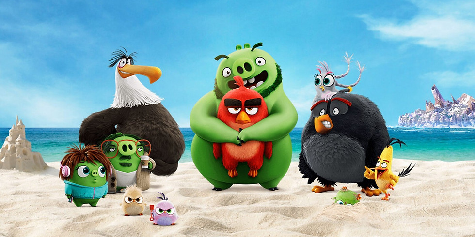 Angry Birds 2 (PG) Netflix Party