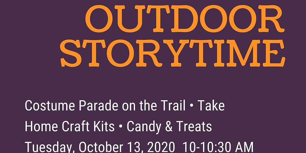 (not so) Spooky Outdoor Storytime!