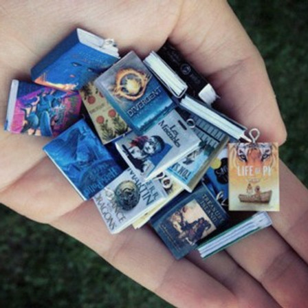 Teens Only! Tiny Book Jewelry