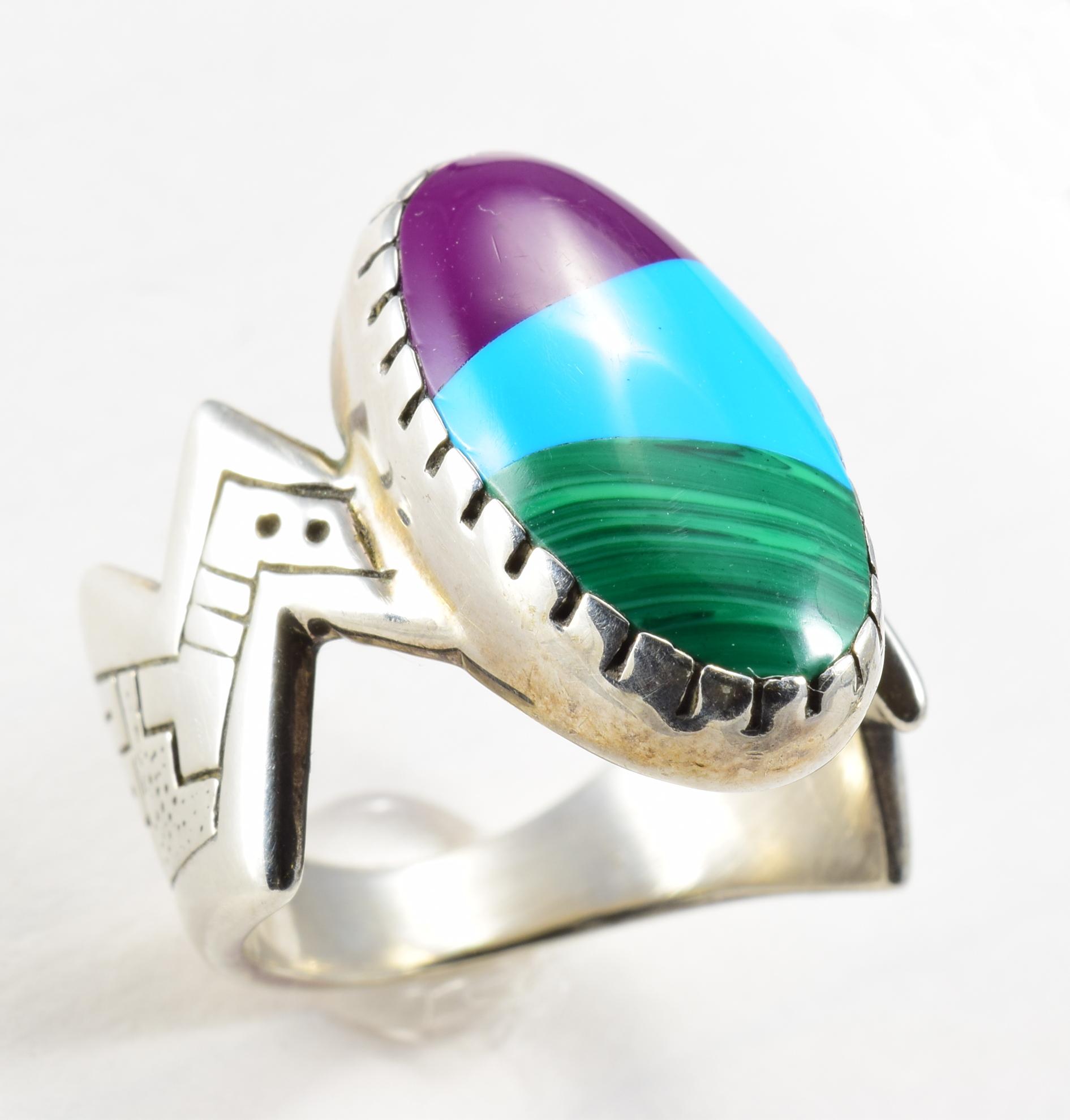 The Estate Gallery LLC Navajo Sterling Ring