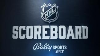 Bally Sports NHL Scoreboard 2021