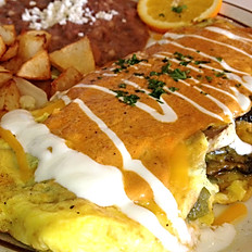 Omelette con Chipotle