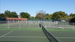 Four Outdoor Hard Courts