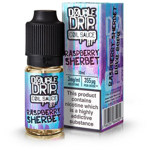 Raspberry Sherbet E-Liquid by Double Drip 10ml Bottle