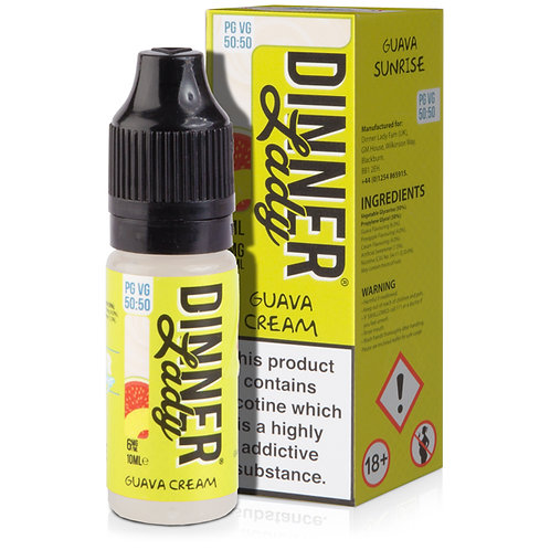 Guava Cream E-Liquid by Summer Holidays 50/50 10ml Bottle