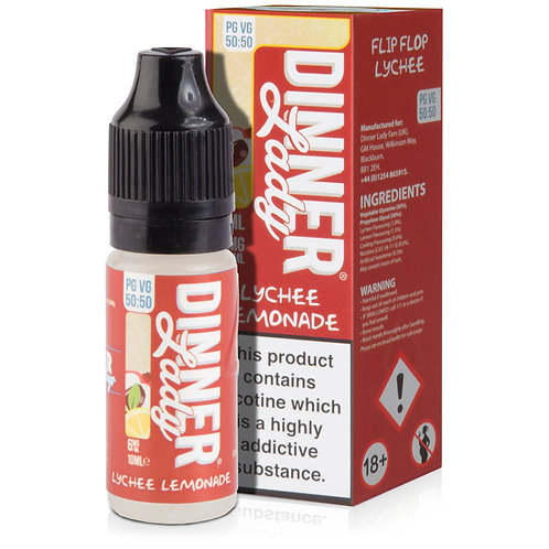 Lychee Lemonade E-Liquid by Summer Holidays 50/50 - 10ml Bottle