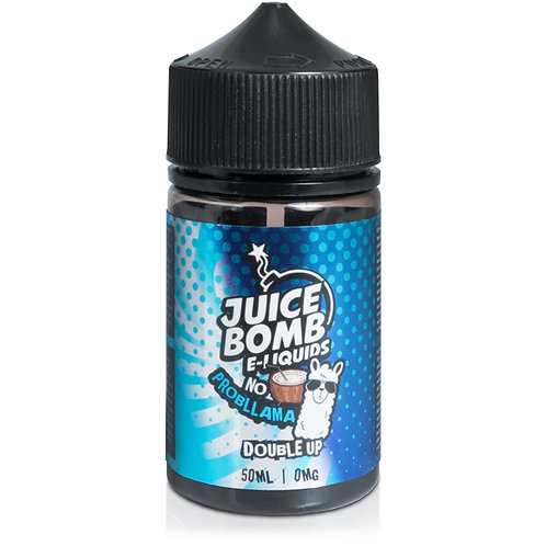 No Probllama Double Up E-Liquid by Juice Bomb - 70%VG - 50ml
