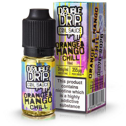 Orange Mango Chill E-Liquid by Double Drip 10ml Bottle