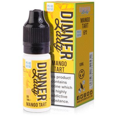 Mango Tart E-Liquid by Dinner Lady 50/50 10ml Bottle