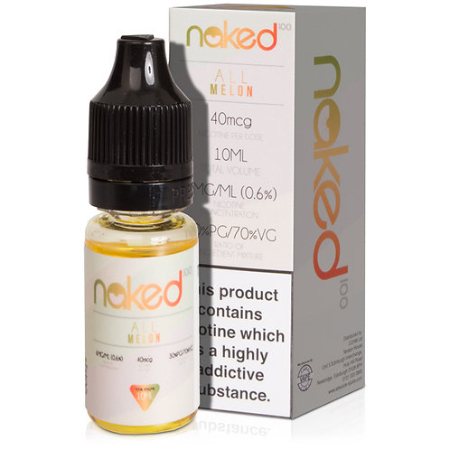 All Melon E-Liquid by Naked 100 - 10ml Bottle