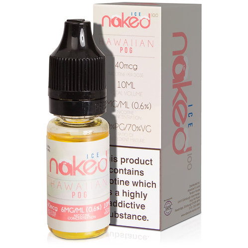 Hawaiian Pog On Ice E-Liquid by Naked 100 - 10ml Bottle