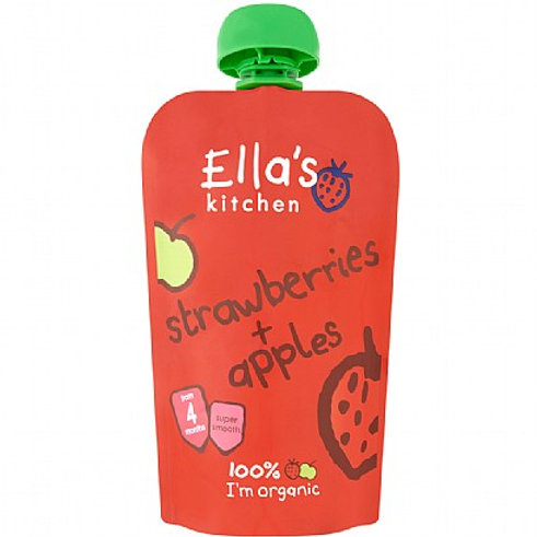 Ella's Kitchen- Strawberry & Apple 120g