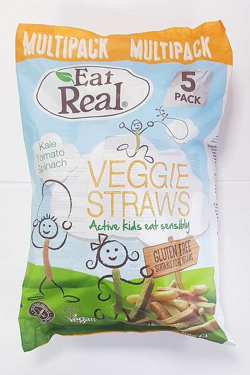Eat Real Veggie Straws Multipack 100g