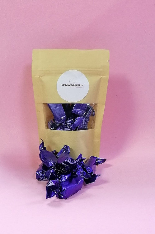 Stockleys Sugar free Liquorice Toffee Sweets Pouch