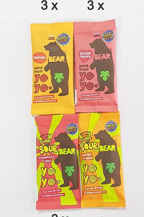 Happy Baby Treat - YoYo Bear saver x 12