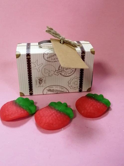 Giant Strawberry - Halal - Fancy Sweet Box 50g