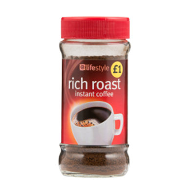 LifeStyle Rich Roast - Instant Coffee 80g