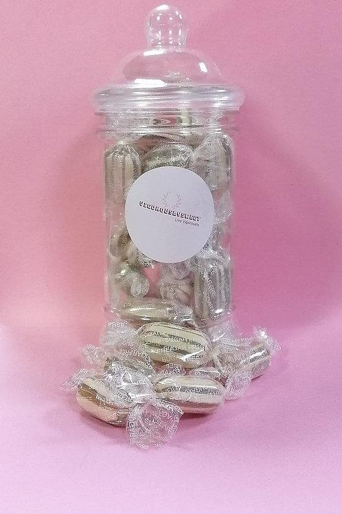 Stockleys Sugar free Mint Humbugs Sweets Jar
