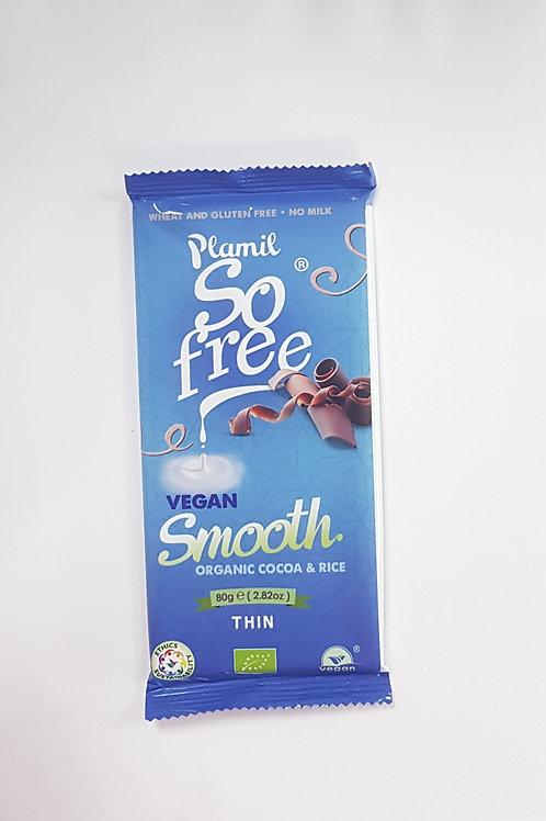 Plamil So Free Vegan Smooth Chocolate 80g