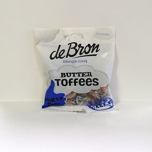 De Bron Sugar Free Butter Toffee Sweets 100g