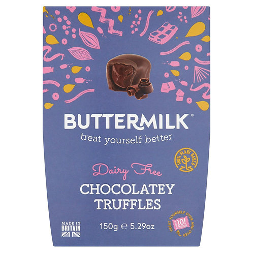 Buttermilk Dairy Free Chocolatey Truffles 150g