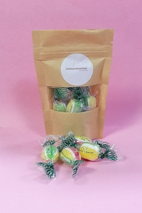 Royale Sugar free Rosey Apples sweets pouch