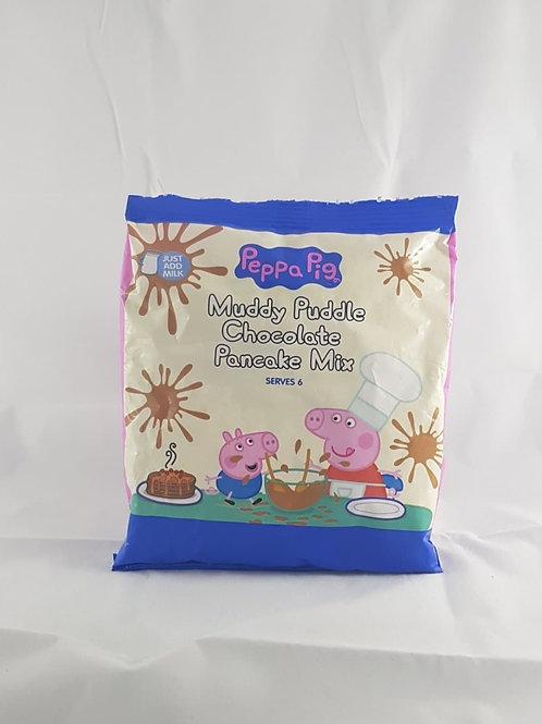 Peppa Pig Muddy Puddle Chocolate Pancake Mix