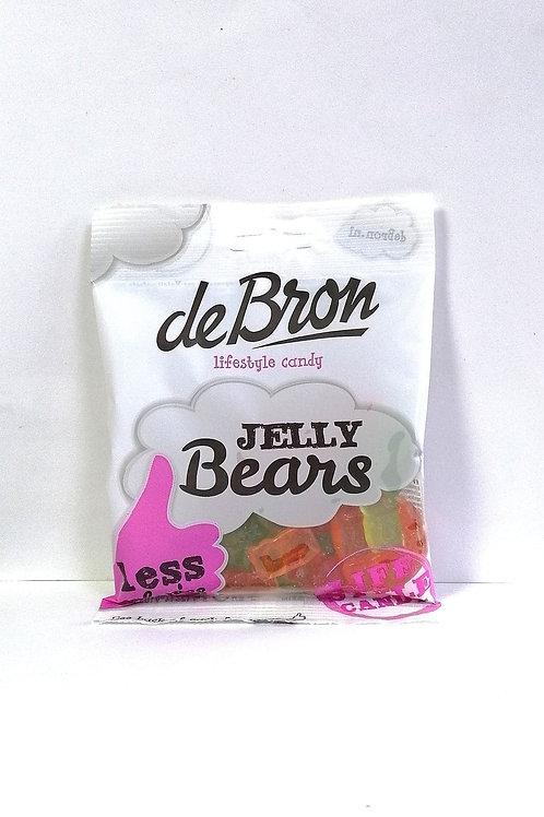 De Bron Sugar Free Jelly Bears Sweets 90g