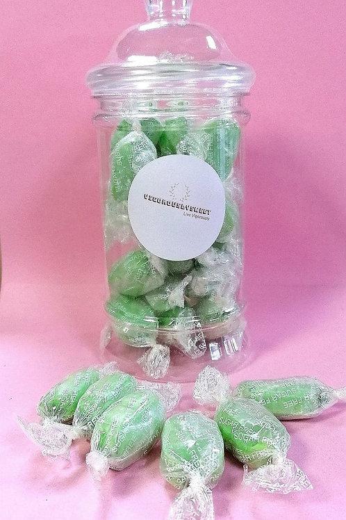 Stockley's Sugar free Chocolate Limes Sweet Jar
