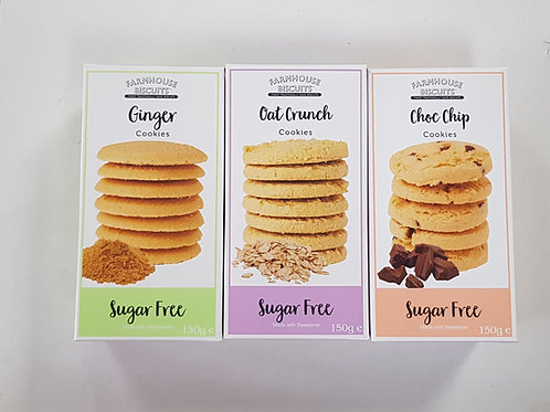 Farmhouse Sugar-Free Treat 3 in 1 Biscuits 450g
