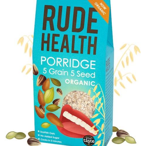 Rude Health Porridge 5 Grain 5 Seed Organic 500g