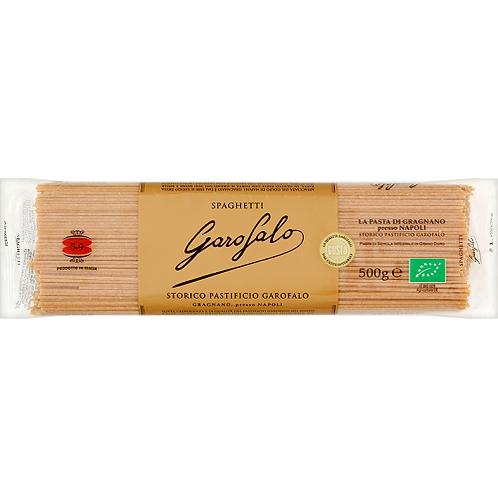 Garofalo Whole Wheat Organic Spaghetti 500g