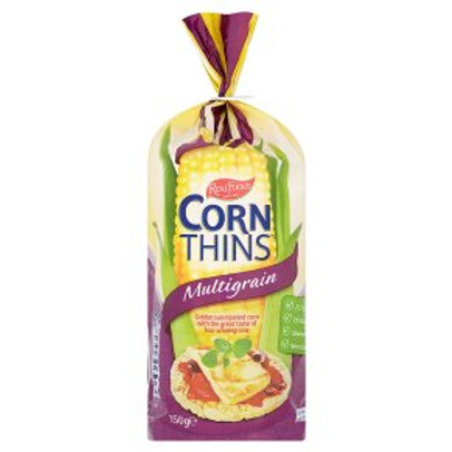 Real Foods Corn Thins Multigrain 150g