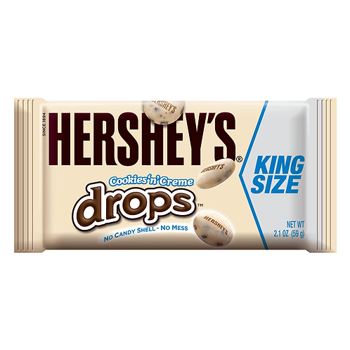 Hershey's Cookies and Cream Drops Kingsize 59g