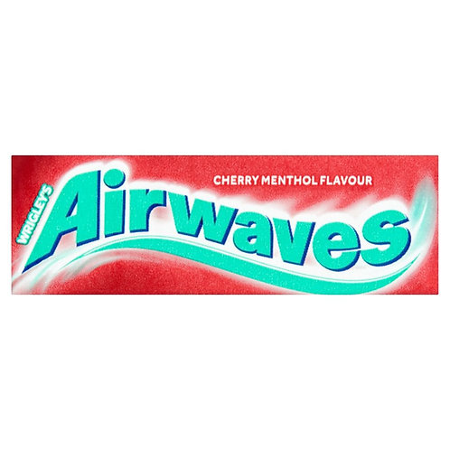 Wrigley's Airwaves Cherry Menthol Sugar Free Chewing Gum 14g