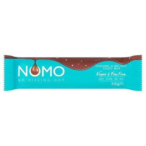 Nomo Caramel & Sea Salt Chocolate Bar 38G