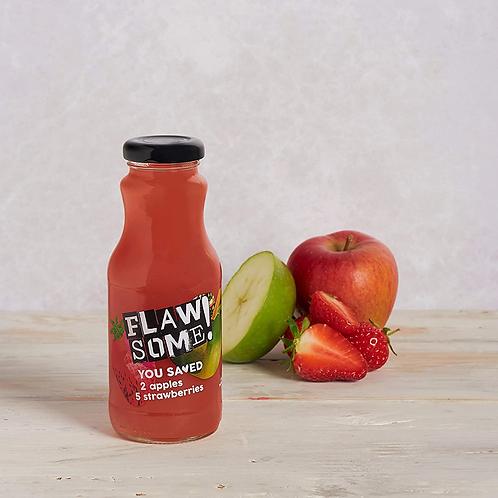 Flawsome Apple & Strawberry cold pressed juice 250ml