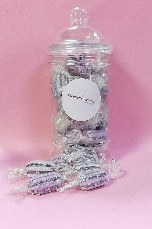 Stockleys Sugar free Blackcurrant & Liquorice Sweets Jar