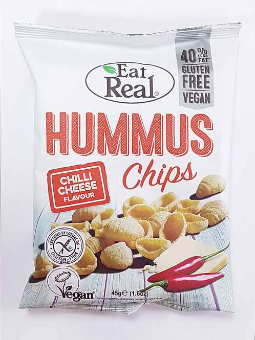 Eat Real Hummus Chips Chilli Cheese 45g