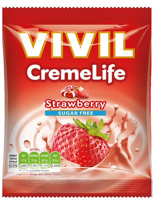 Vivil Cremelife Strawberry 60g
