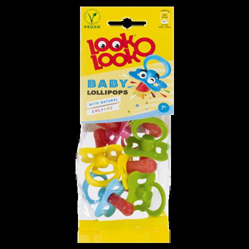 Look o Look Vegan Baby Lollipops Sweets 37g