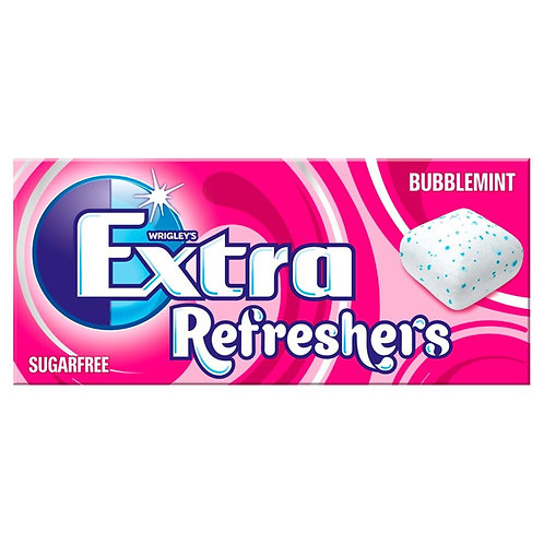 Wrigley's Extra Refreshers Bubblemint Sugarfree Chewing Gum