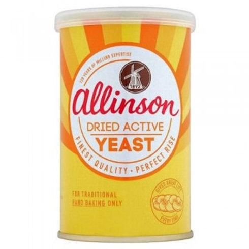 Allinson Dried Active Yeast 125g