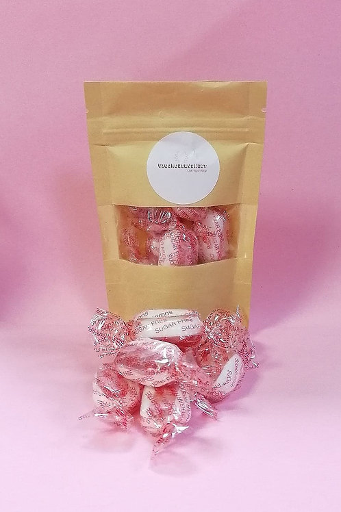 Stockley Sugar-Free Strawberry & Cream Sweets Pouch