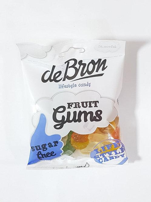 De Bron Sugar Free Fruit Gums 100g