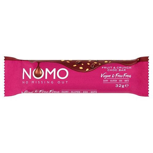 Nomo Fruit & Crunch Bar 32G