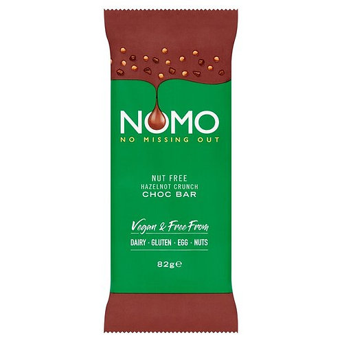 Nomo Hazelnot Crunch Chocolate Bar 82G