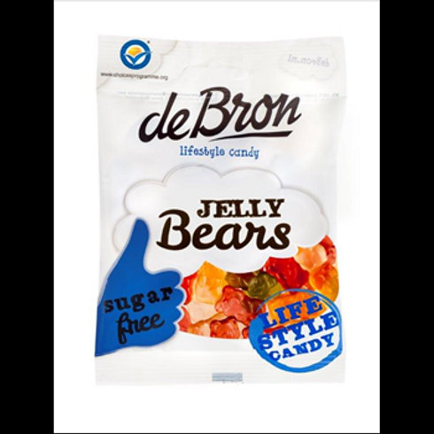 De Bron Sugar Free Jelly Bears  90g