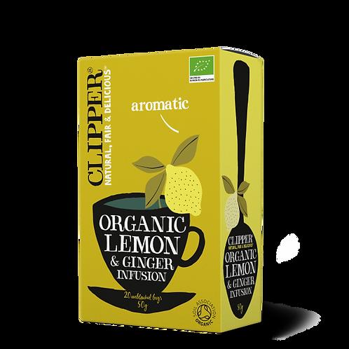 Clipper - Organic Lemon & Ginger Infusion 50g