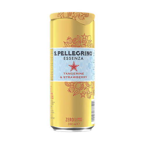 San Pellegrino - Essenza - Tangerine & Strawberry 330ml